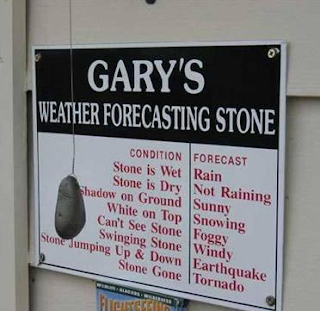 gary's weather forecasting stone