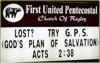 Try God's plan of salvation
