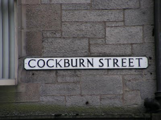Cockburn Street sign
