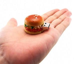 hamburger USB flash drive