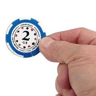 poker chip usb key