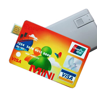 credit card USB Drive