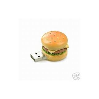 cheeseburger USB flash drive