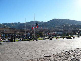 Cusco from Plaza de Armas