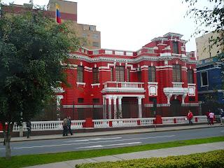 Venezuelan embassy, Lima