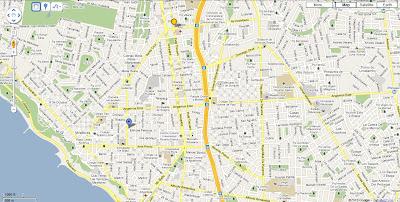 Hotel San Agustin Colonial orientation map