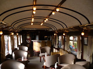 Dining room and bar, Andean Explorer