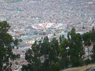 View of Cusco from Q'enqo