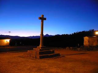 Chinchero church cross