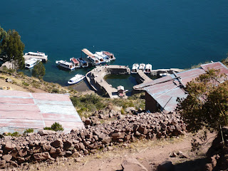 Western dock of Taquile