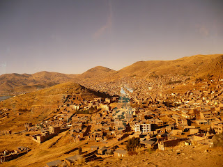 Puno from bus's tinted windows