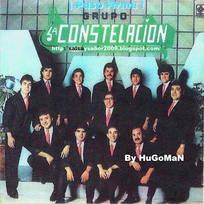 Hugo 100 salsa romantik y m s grupo la constelacion for Jardin prohibido salsa