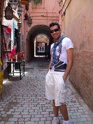 Eu em Marrakesh - Marrocos