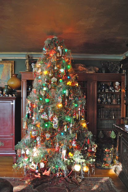 old fashioned christmas tree lights - Old Fashioned Christmas Tree Decorations