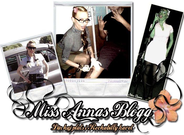 Miss Anna - din kajplats i Rockabillyhavet