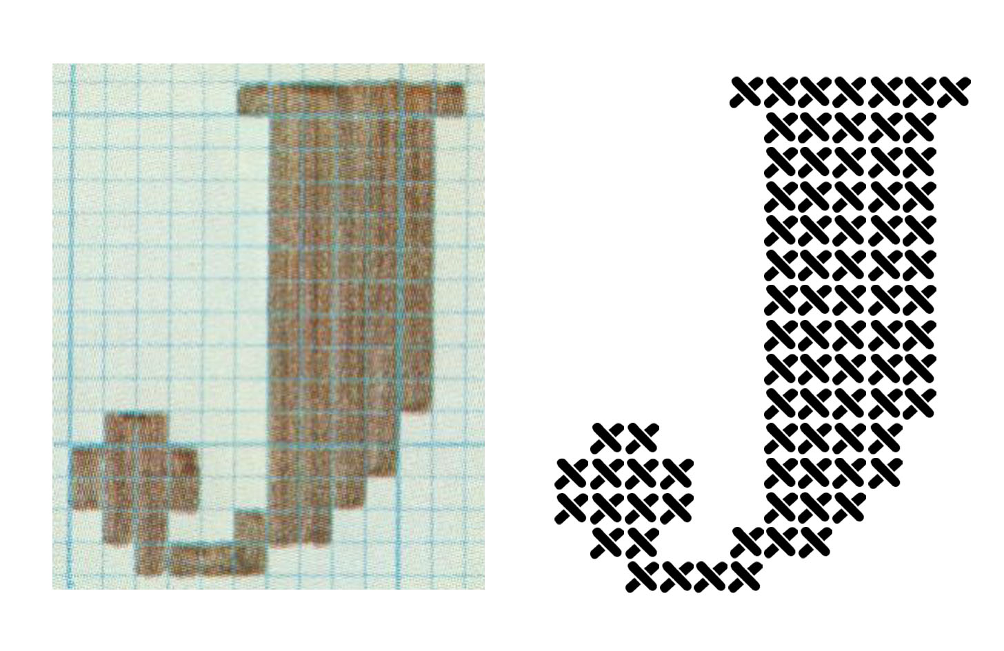 cool patterns to draw on graph paper