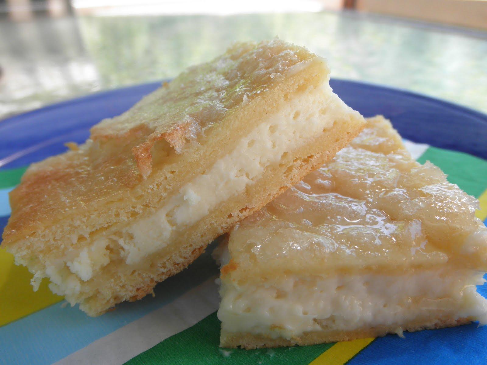 Cream Cheese Squares Recipe — Dishmaps