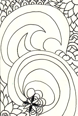 Free coloring pages waves for Waves coloring page