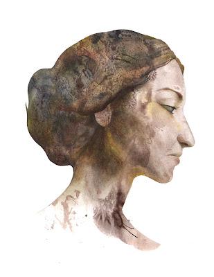 maria callas Portrait