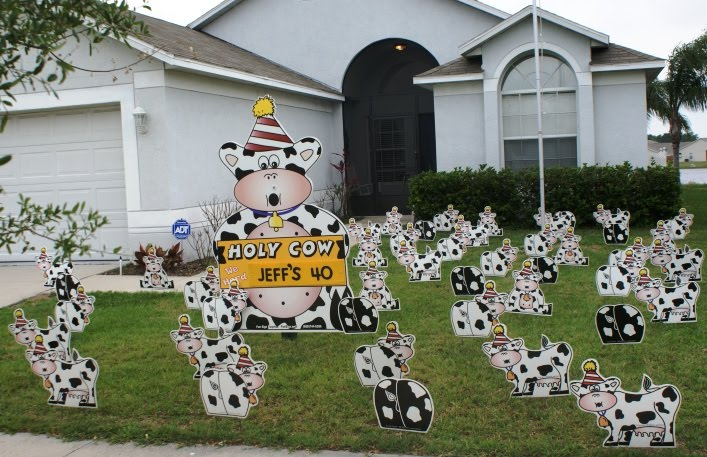 BIRTHDAY YARD FLOCKING & DECORATIONS* TAMPA, FL- CALL TODAY 813-777 ...