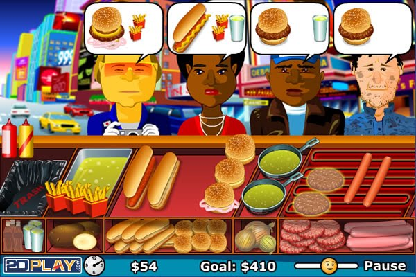 Hamburger Bush Hot Dog Stand