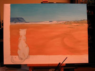 rodiles oleo pintura septiembre