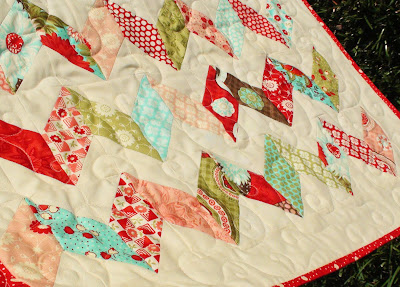 Sewing & Quilt Gallery: Strip-Pieced Bento Box Quilt Pattern