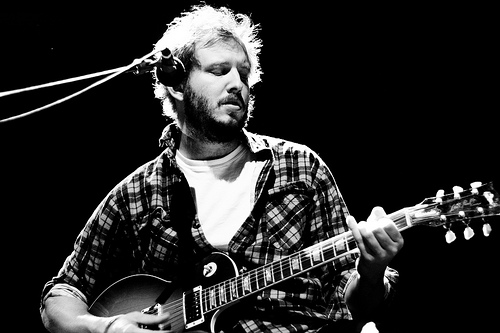 latest band crush: Bon Iver