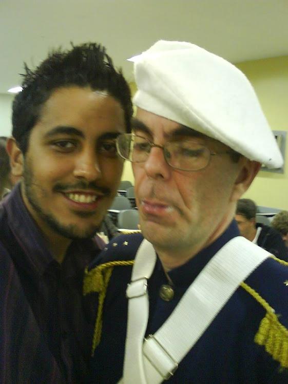 Eu e o Aldinho!