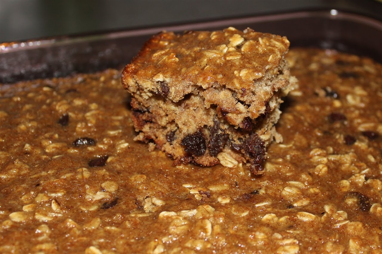 Recipe: Banana Oatmeal Breakfast/Snack Bars - Our Out-of-Sync Life