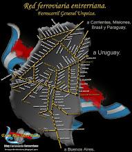 MAPA DE LA RED FERROVIARIA