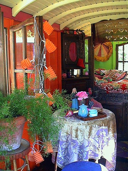 Elegant Whether Used As A Guest House, Studio, Or A Playhouse To Exceed A Childs Wildest Dreams, A Gypsy Caravan Will Instantly Transform Your  And They Began The Restoration Of Their First Roulette The Interiors Are Where Jeanne Truly Comes To