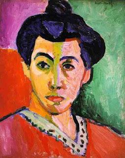 La raya verde, Matisse
