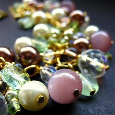 Handmade Cluster Bracelet