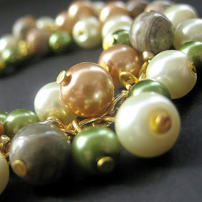 Forest Glen Pearl and Gemstone Bracelet