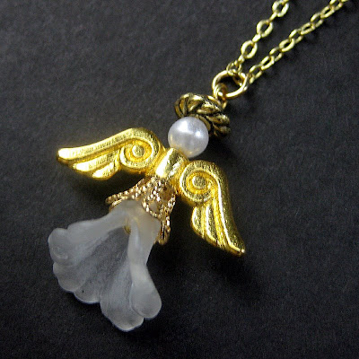 Handmade Guardian Angel Necklaces and Charms