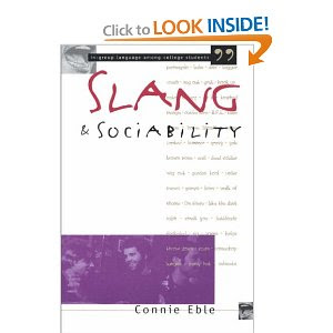 Slang and dirty words are not the same thing, but what they have in common ...