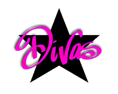 divas salon logo design