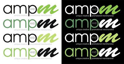 ampm logo design