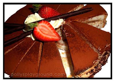 tuxedo cake photo