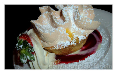 lemon meringue tart photo