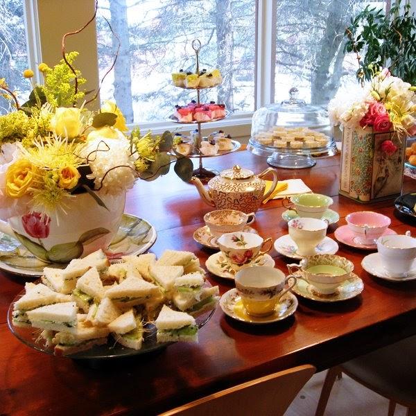 Tea Party Table Decoration Ideas: Bloomerism :: A Blog By InBloom Event Design: Tea Party