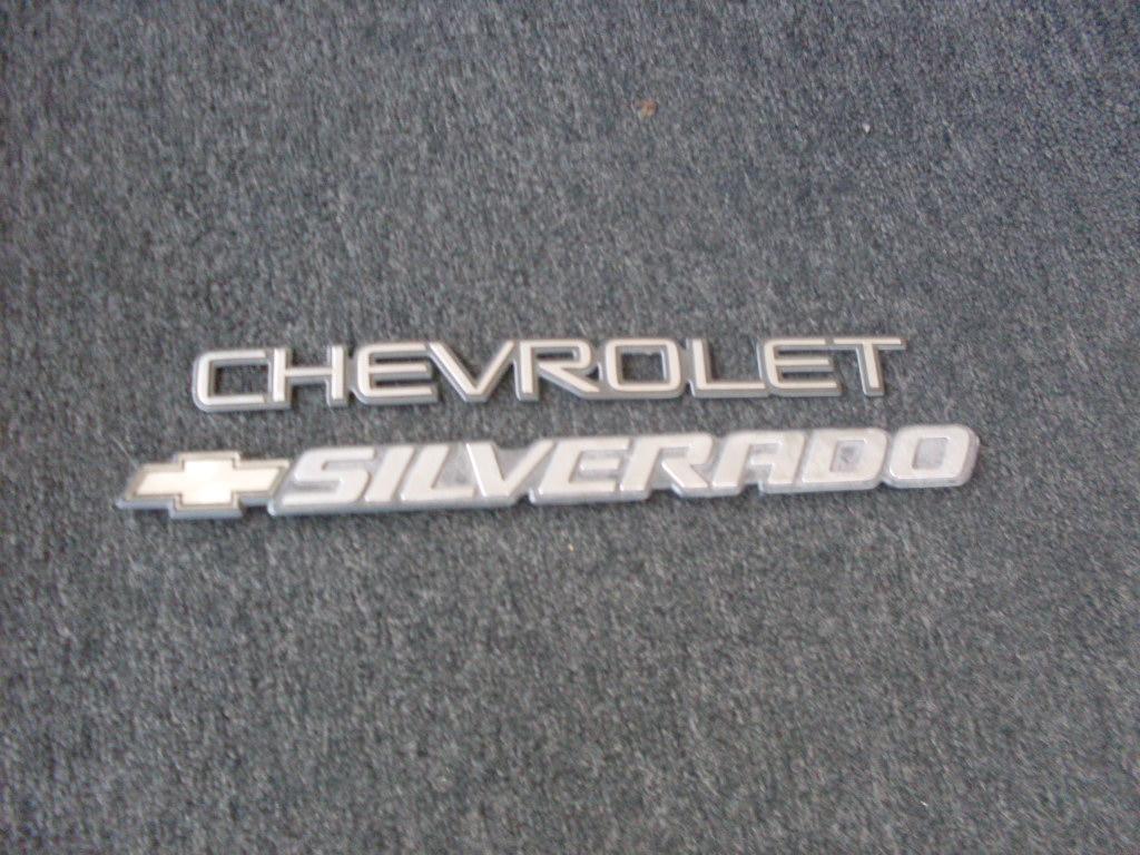 chevy silverado emblems will work for any silverado call 952 882 7776