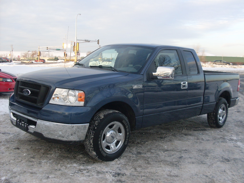 James 2006 Ford F150 Blue