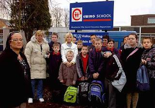unhappy ewing school parents