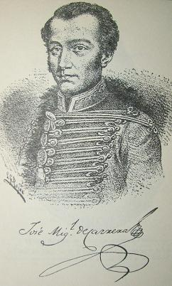 El Real Padre de la Patria, General Jose Miguel Carrera Verdugo