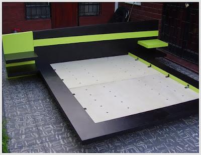 Camas japonesas cerouno dise os cama neooriental minimalista - Cama tipo japonesa ...