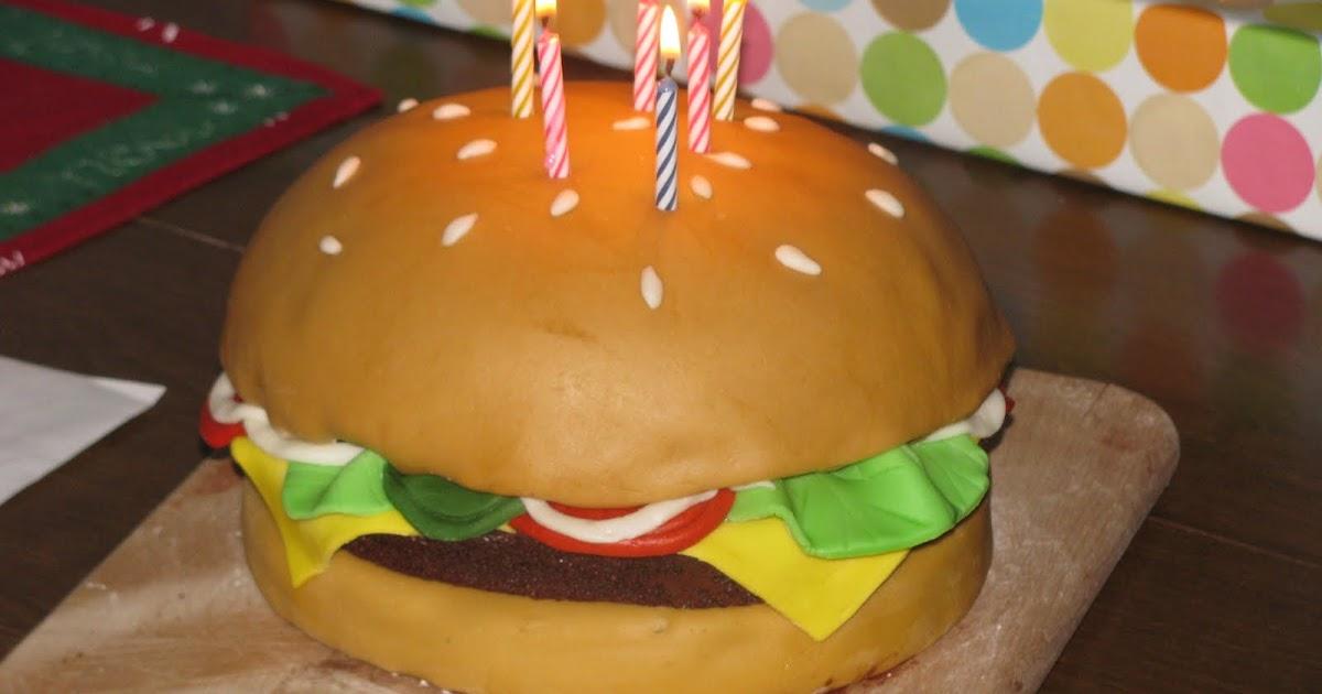 Homemade By Heather 33 Cheeseburger Birthday Cake