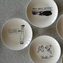 plates....