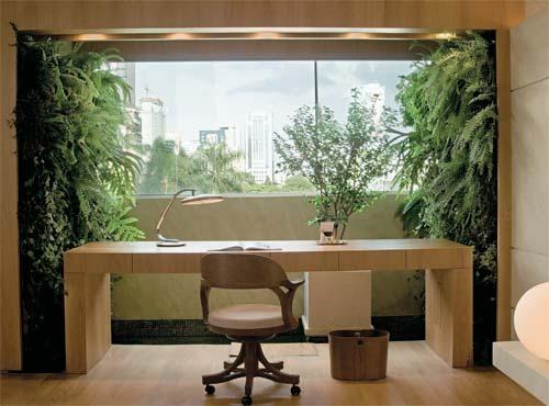 jardim vertical apartamento pequeno:Allan Feio Φ Arquitetura: O verde nas paredes